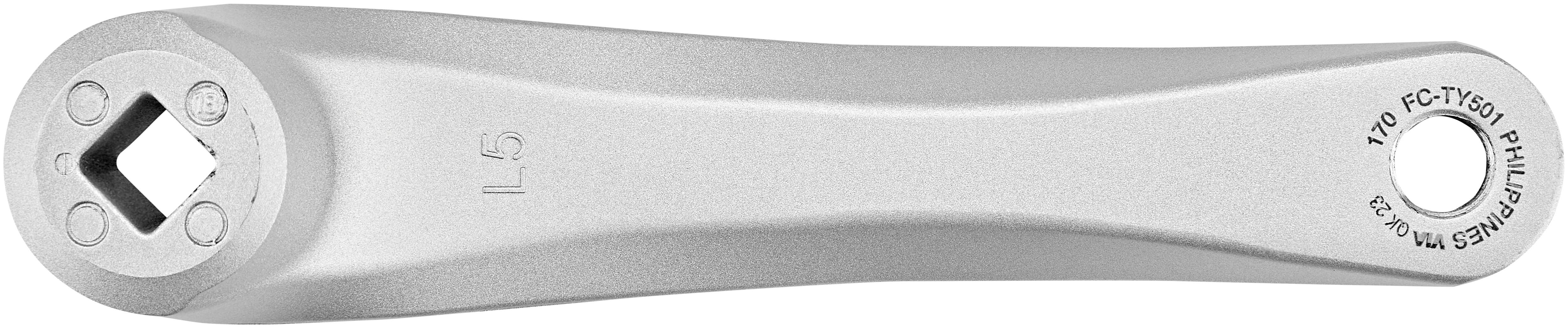 Shimano efcty 501e888clb Pédalier TY 501 48//38//28 175 mm FC-TY 501 4 pans 6